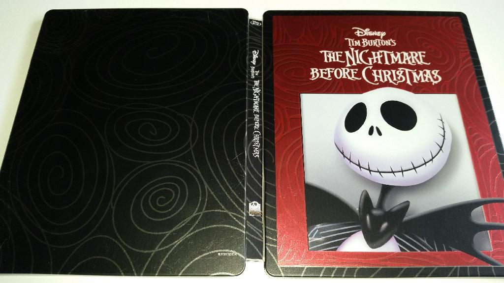The Nightmare Before Christmas Blu-Ray Steelbook Review